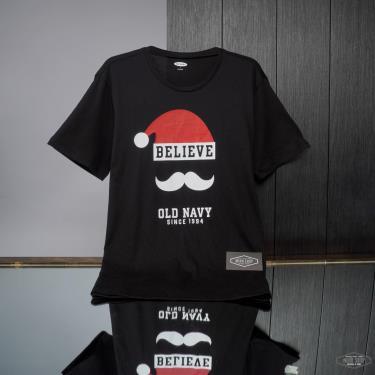 Hàng Chính Hãng Áo Thun Old Navy Soft-Washed Christmas Graphic Believe Santa Logo 2021**