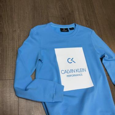 70% Áo cực xịn  Áo Sweatshirt Calvin Klein Performance Blue **[00gws9w370 478]