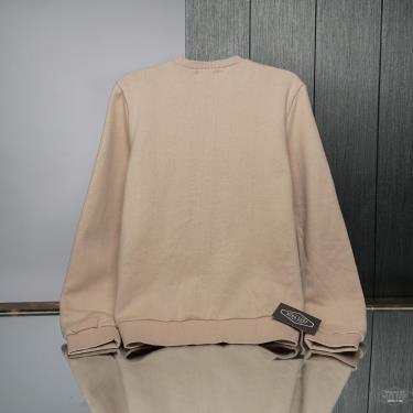 sale~~ Hàng Chính Hãng Áo Sweater Guess Classic Big  Logo Nude 2021**<Áp dụng CK> XL SIZE