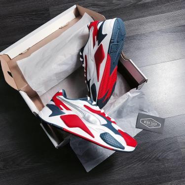 Flash deal HOT ~50 Hàng Chính Hãng Puma RS-X3 White/Red/Blue 2020**