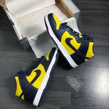 """Hàng Chính Hãng Nike Dunk High SP """"Michigan"""" 2020** V"""