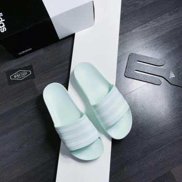 Hàng Chính Hãng Dép Adidas Adilette Aqua Slides Dark Mint  **2020**