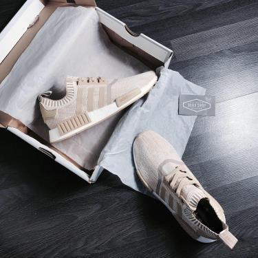 Hàng Chính Hãng  Adidas NMD R1 Linen Khaki  2020**