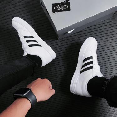 50% SALE  Hàng Chính Hãng Adidas VStar Set White /Black 2021**