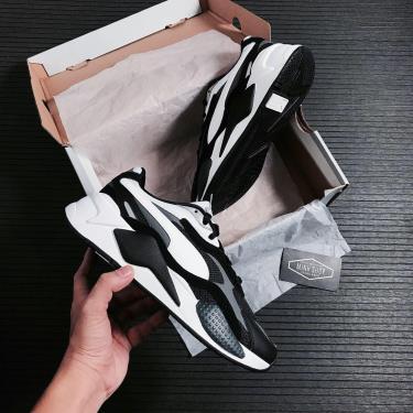 Hàng Chính Hãng Puma RS-X3 Puzzle Black White 2020**