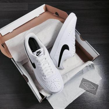 Hàng Chính Hãng Nike Court Vision Low White/Black 2020**