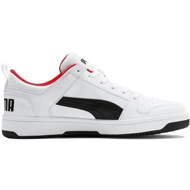 Hàng Chính Hãng Puma Rebound Layup Lo White / Black / Red 2021**