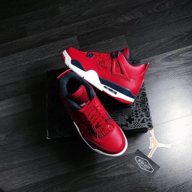 Hàng Chính Hãng Nike Air Jordan 4 Retro Fiba 2020**