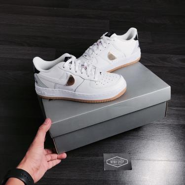 Hàng Chính Hãng Nike Air Force 1 NBA White/Grey 2021** [CT3842 100]