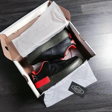 Hàng Chính Hãng Nike Air Force 1 Shadow Black /Orange  2020**