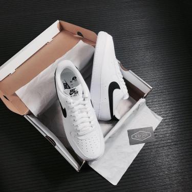 -750K Hàng Chính Hãng Nike Air Force 1 '07 'White Black' 2021**