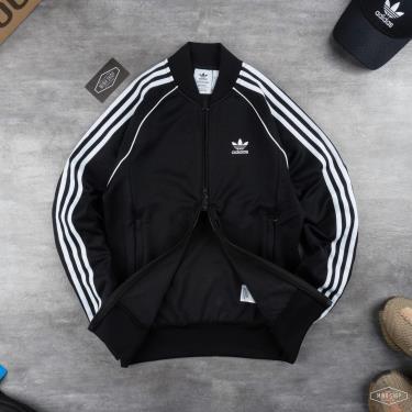 Áo Khoác Jacket Adicolor Classics Primeblue SST Black * [GF0198]