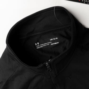 Hàng Chính Hãng Áo Thun Under Armour Tech 1/2 Zip Long Sleeve Black 2020**