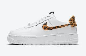 Hàng Chính Hãng Nike Air Force 1 Low Pixel Leopard 2021**