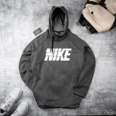 Hàng Chính Hãng Áo Hoodie Nike Grey /White Logo 2021**
